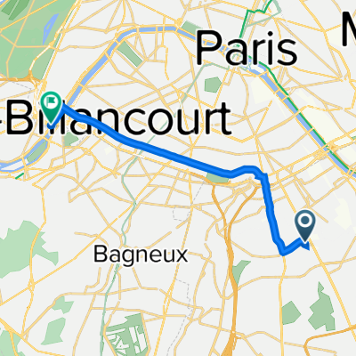 De 6C–10 Allée des Champs Fleuris, Vitry-sur-Seine à 34 Quai Saint-Exupéry, Paris