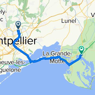 De 455 Avenue de la Monnaie, Castelnau-le-Lez à 624 Tour de Constance, Aigues-Mortes