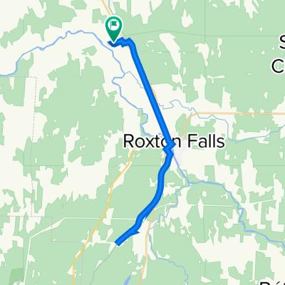 Itinéraire vers Chemin Bourassa 296, Acton Vale