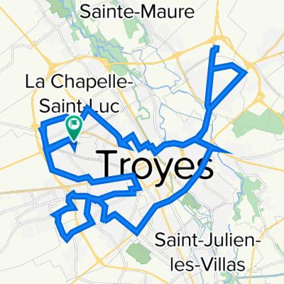 De 19 Place des Moissons, Les Noës-près-Troyes à 19 Place des Moissons, Les Noës-près-Troyes