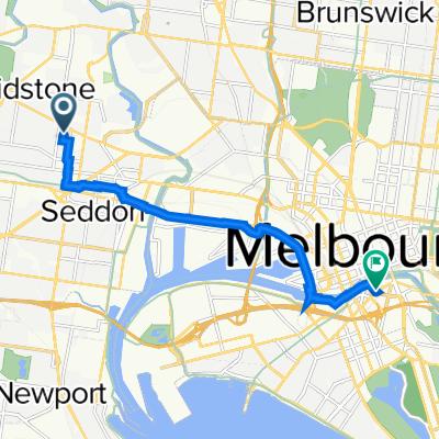 1 Govan Street, Footscray to City Road, Southbank