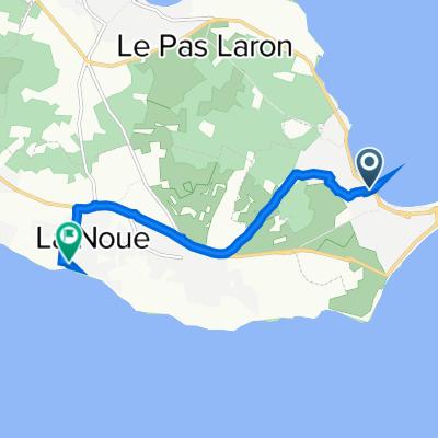 De 64 Rue de la Digentoise, Rivedoux-Plage à 1–9 Route de la Motte, Sainte-Marie-de-Ré