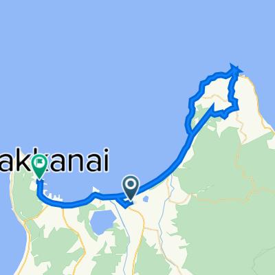 道道1059号, Wakkanai to 7-13, Chuo 2-Chōme, Wakkanai