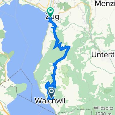 De Forchwaldstrasse 18, Walchwil a Neugasse 16, Zug