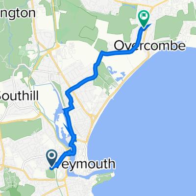 32–44 Knightsdale Road, Weymouth to 3 Eadon Close, Weymouth