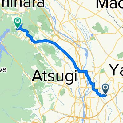1405-15, Kozono, Ayase to 5645, Hambara, Aikawa, Aiko-Gun