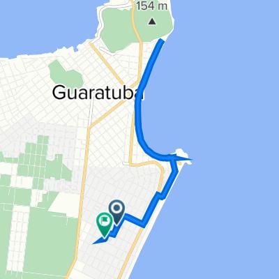 De Rua Visconde de Guarapuava, 557, Guaratuba a Rua Apucarama, 1100–1182, Guaratuba
