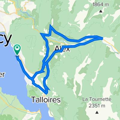 Veyrier-du-Lac Cycling