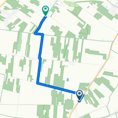 De Lege Moerstraat 11, Kaprijke a Mandeweg 2, Sint-Laureins