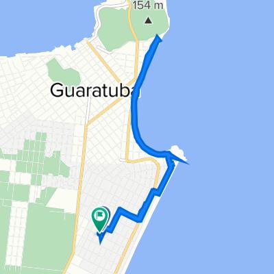 De Rua Apucarama, 1220, Guaratuba a Rua Pedro Álvares Cabral, 334, Guaratuba