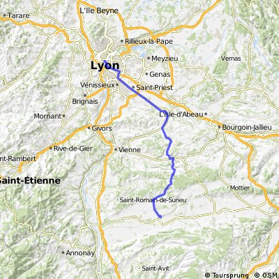 France lyon to beaurepaire
