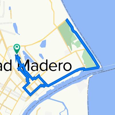 De Urbano Juárez 755, Ciudad Madero a Francisco Márquez 100, Ciudad Madero