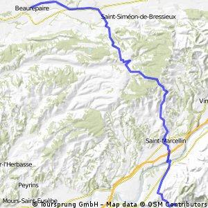 France beaurepaire to pont-en-royans