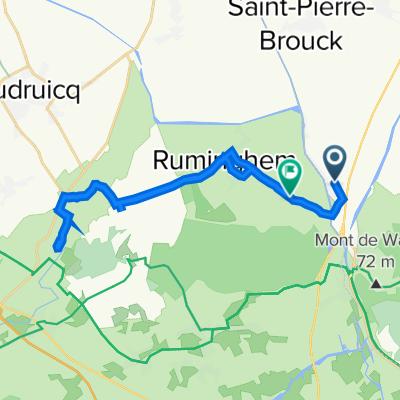 De Route de Bourbourg 25, Holque à Route de Watten 2907, Ruminghem