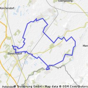 Dreiflüsse route