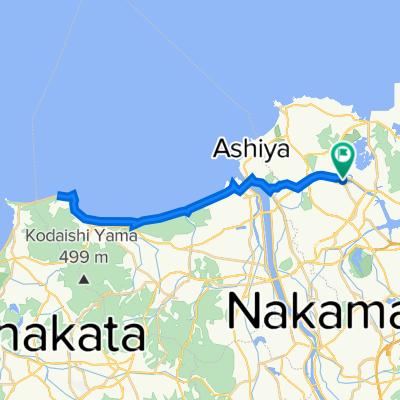 遠賀自転車道40キロコース