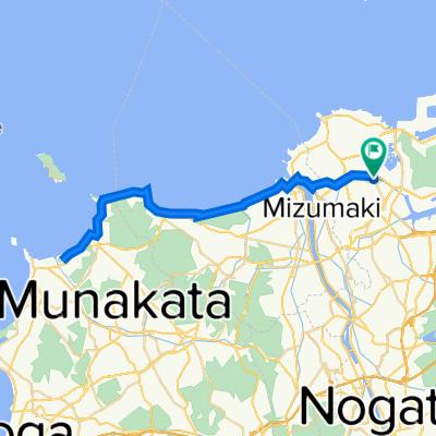 遠賀宗像自転車道50キロコース