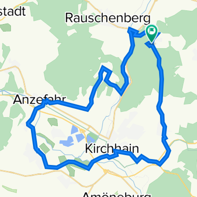Kirchhainer Weg 1, Kirchhain nach Kirchhainer Weg 5, Kirchhain