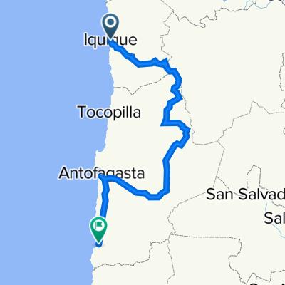 Iquique naar Taltal