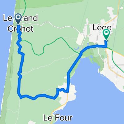 Itinéraire vers 1 Avenue de la Mairie, Lège-Cap-Ferret