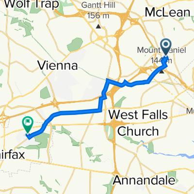 2101–2111 Preston Square Ct, Falls Church to 3401–3411 Country Hill Dr, Fairfax