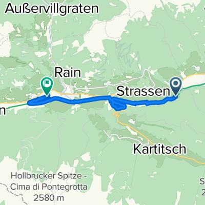 Bach 114, Strassen nach Sillian 198b