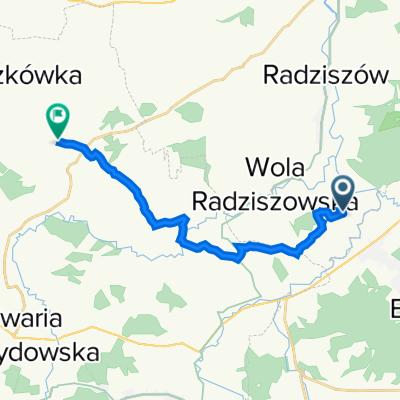 Wola Radziszowska do Przytkowice