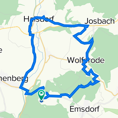 Kirchhainer Weg 5, Kirchhain nach Kirchhainer Weg 6, Kirchhain