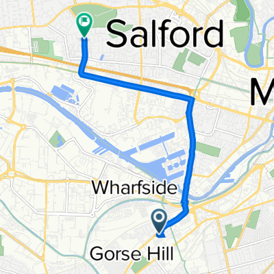 737 Chester Road, Manchester to 146 Weaste Lane, Salford