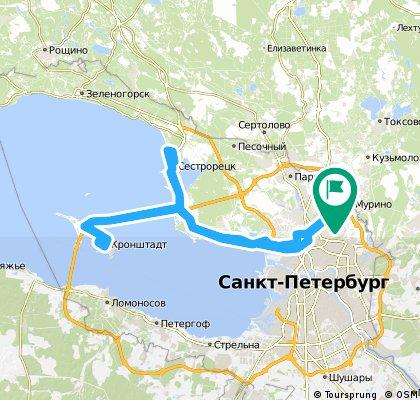 Суздальский-Сестрорецк-Кронштадт