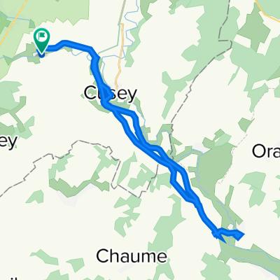 De Chemin de France 3, Isômes à Chemin de France 6, Isômes