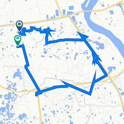 Lane 4 147, ঢাকা to Ideal Road 62, Dhaka