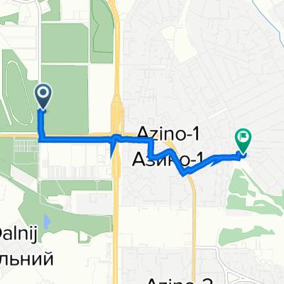 От улица Назиба Жиганова, Казань до улица Тыныч 3, Казань