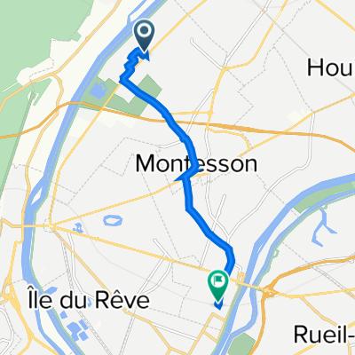 Itinéraire vers 44 Place Maurice Berteaux, Chatou