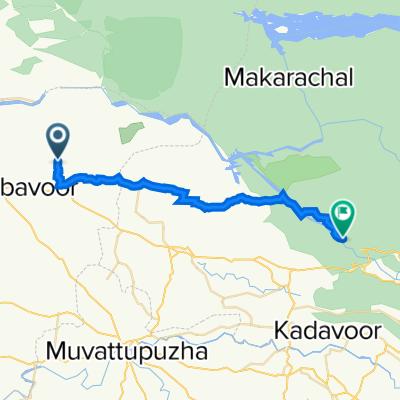 Millumpady, Vengoor West to Inchathotty Neriamangalam Road