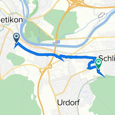 De Im Dörfli 44, Dietikon a Schürrainweg 2, Schlieren