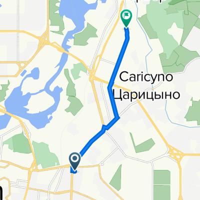 От улица Гвардейская 3, Казань до улица Журналистов 101, Казань