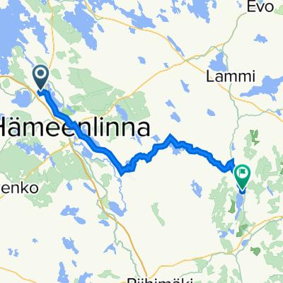 Kinnalantie 1, Parola to Kordelinintie 64, Hietoinen
