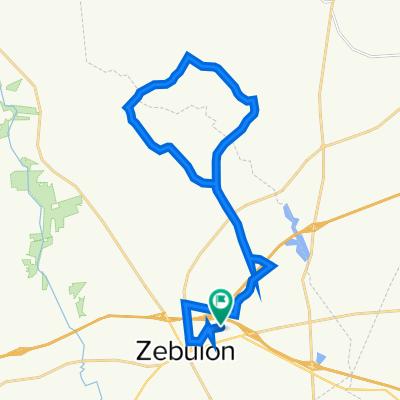 33 km (20.5 miles ) North loop