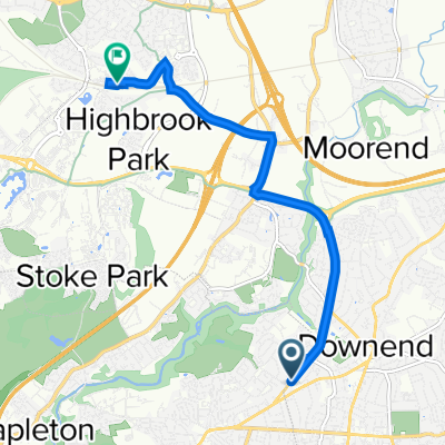 196A Overndale Road, Bristol to Orchard Knoll, South Gloucestershire