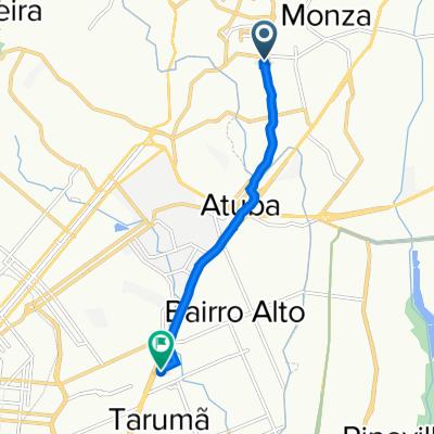 De Rua São Sebastião, 460, Colombo a Rua Fulvio José Alice, 186, Curitiba
