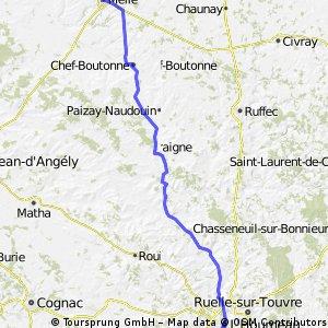 BVCC Melle to Angouleme