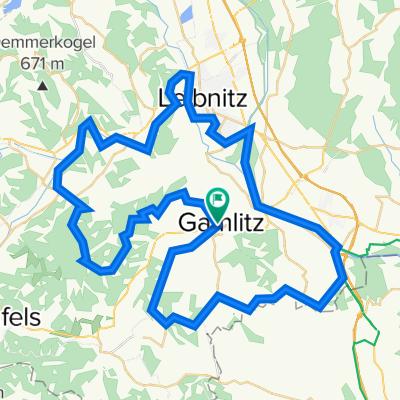 Raiffeisenstraße 210, Gamlitz nach Südsteirische Grenz Straße 42