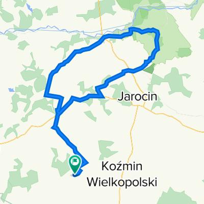 Bułaków-Borek-NoweMiasto-Pogorzelica-Żerków-Borek