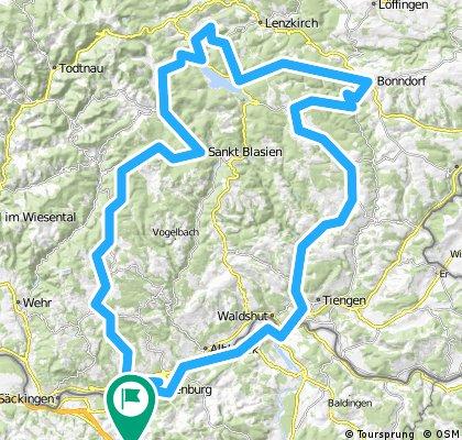 Schwarzwaldrundfahrt