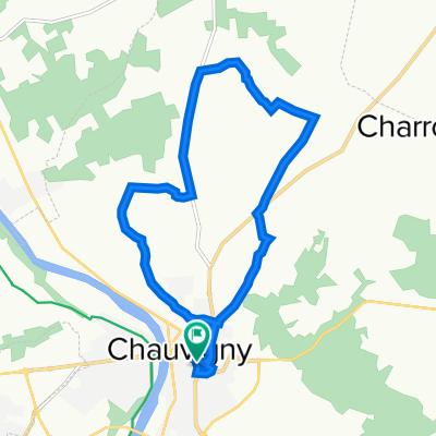 De Rue de la Paix 43, Chauvigny à Rue de la Paix 43, Chauvigny