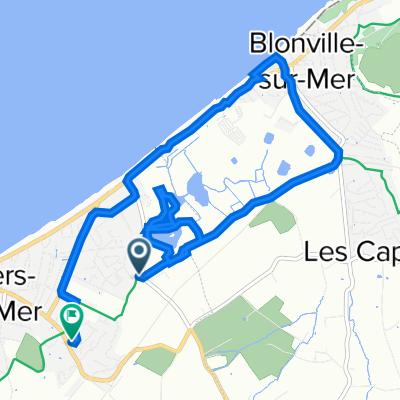 De Avenue Jean Moulin, Villers-sur-Mer à 63F Avenue de la Brigade Piron, Villers-sur-Mer