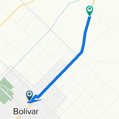 De Leiria 127, San Carlos de Bolivar a Unnamed Road