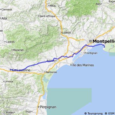 BVCC Carcassonne to Port Camargue