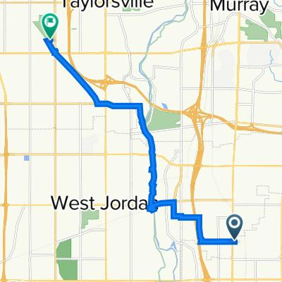 Taylorsville Park Route